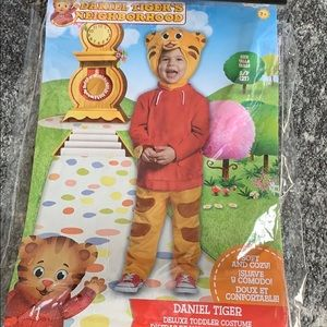 Daniel tiger Halloween costume 2T